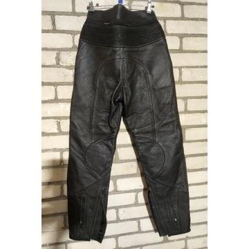 Spodnie motocyklowe damskie skórzane ALPINESTARS