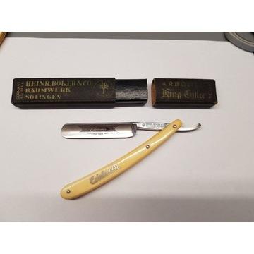 Brzytwa Heinrich Boker Edelweiss solingen golenie