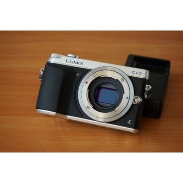 Panasonic Lumix GX7 Przebieg:1297 Gwarancja 2022r.