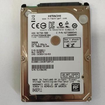 Dysk twardy HDD 500GB Hitachi