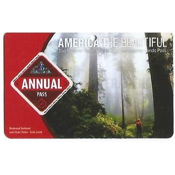 America the Beautiful Annual Pass do 08.2022