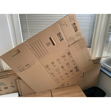 DUNDERGUBBE pudło/przeprowadzka, ładowność 30 kg