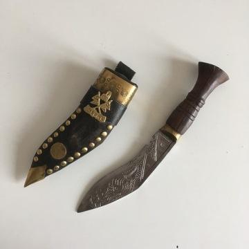 KUKRI - NEPAL - ozdobny - dekoracyjny - nóż