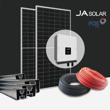 Zestaw fotowoltaiczny PV 3f 4kW dach skośny