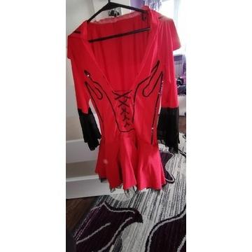 Sexi strój erotyczny czerwony