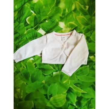 Bolerko, sweterek H&M roz. 68