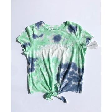T-shirt Calvin Klein Tie Dye farbowana M NOWA