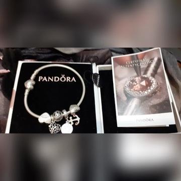 PANDORA Moments +charmsy Certyfikat Autentyczności