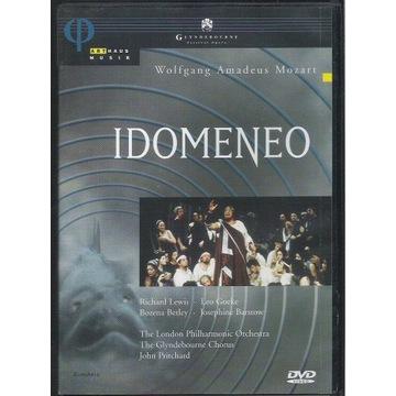 DVD MOZART Idomeneo PRITCHARD, LEWIS, BARSTOW