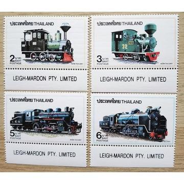 1990, Tajlandia Mi 1396-99A **, kolejnictwo
