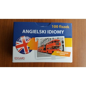Angielski idiomy fiszki