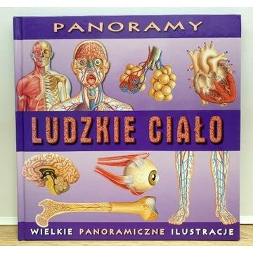 Wielkie Panoramiczne Ilustracje - Ludzkie Ciało.