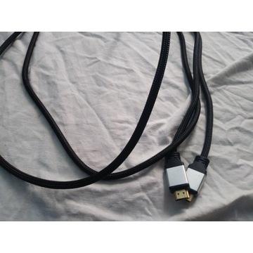 Kabel HDMI 2,5m nowy PC DVD laptop