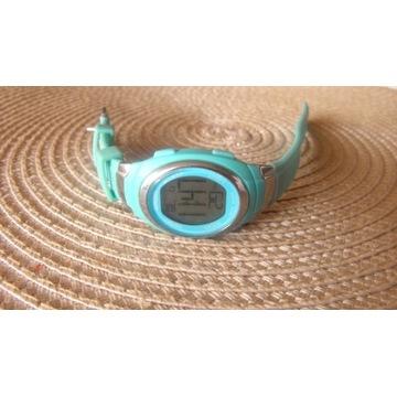 Zegarek ampm turkusowy