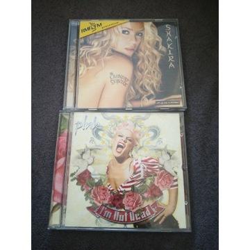 Zestaw-Shakira Laundry Service & Pink I'm Not Dead