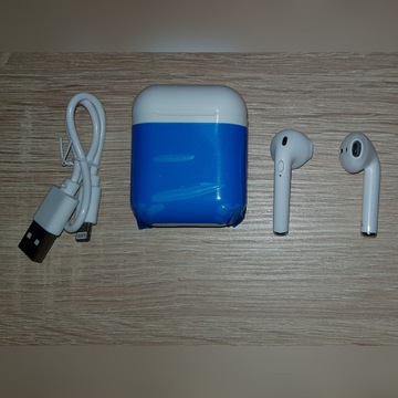 Słuchawki Bezprzewodowe BT i9S TWS  POWERBANK NOWE