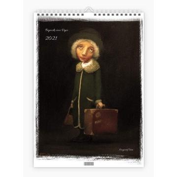 """Krzysztof Iwin - """"Bajeczki cioci Dyzi"""" kalendarz"""