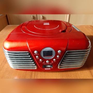 Mały radioodtwarzacz stereo Watson z CD i MP3