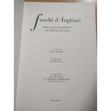 """Książka """"Fuochi d'Anghiari"""""""