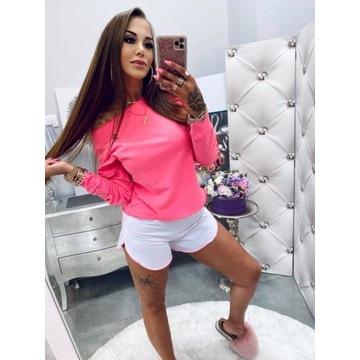 Lola Bianka bluzka i spodenki róż S/M