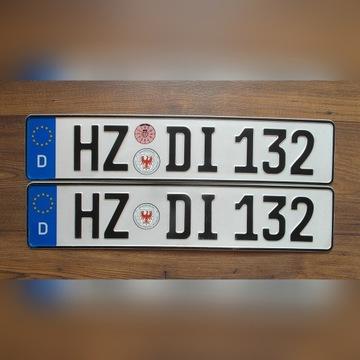 Oryginalne tablice kolekcjonerskie Niemcy 1