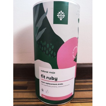 Fit Ruby Natural Mojo koktajl malinowy 500g