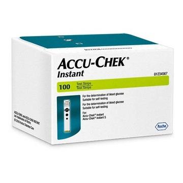 Paski Do Glukometru Accu-Chek Instant 1op.x100szt.
