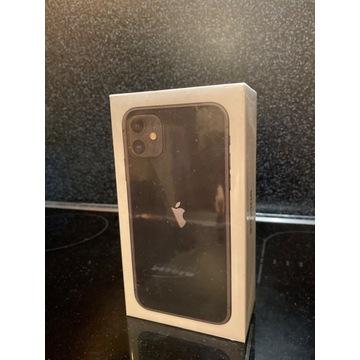 iPhone 11 128GB,GW12, black/czarny,nowy, okazja,