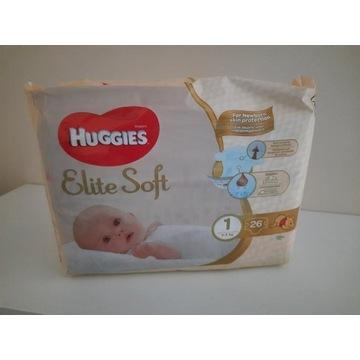 HUGGIES Elite Soft Newborn 1 (3-5kg) 26 szt