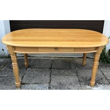Stół drewniany lity dąb + 4 krzesła dębowe