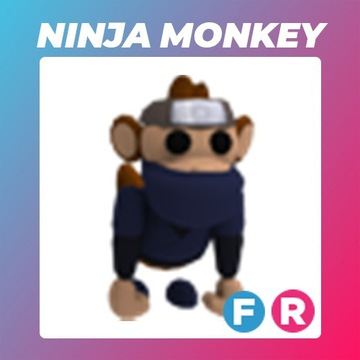 Roblox Adopt Me Ninja Monkey FR