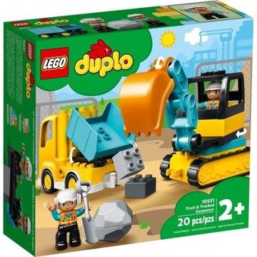 DUPLO CIĘŻARÓWKA I KOPARKA LEGO