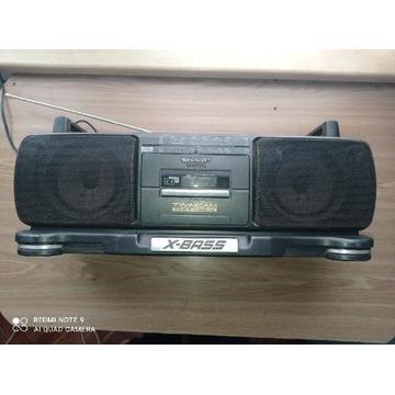 Radiomagnetofon SHARP X BASS  PRL