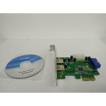 Kontroler USB 3.0 I-Tec PCE22U3 PCIe