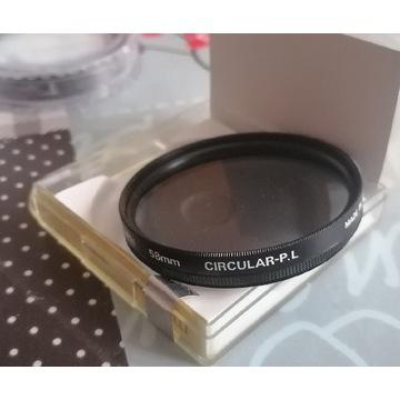 Filtr polaryzacyjny Marumi 58mm