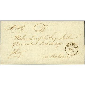 Królestwo Polskie - Warta (Sieradz) - ok. 1860 r.