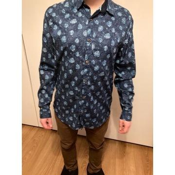 Zestaw koszul męskich S paczka komplet wzory