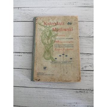 Kalendarz Myśliwski 1904 r. Ilustrowany. Oryginał!