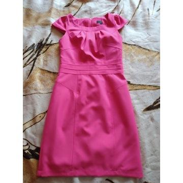 Malinowa sukienka New Look UK 8/ 36 [S]