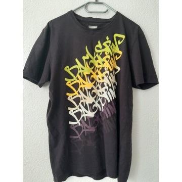 Męska koszulka z nadrukiem