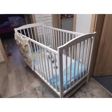 Łóżeczko niemowlęce materac termoelastyczny 120x60