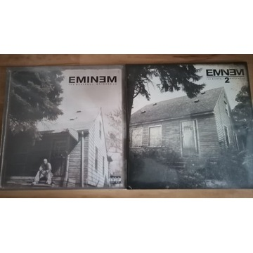 Zestaw Eminem Marshall Maters 1 + 2 LP 4 winyle