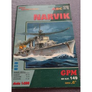 Model kartonowy GPM Narvik