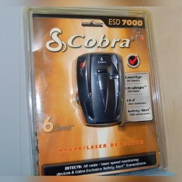 Antyradar COBRA ESD 7000, 6band, 360*, nowy