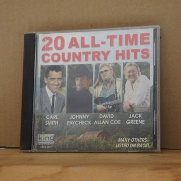 cd499. VARIOUS 20 ALL TIME COUNTRY HITS
