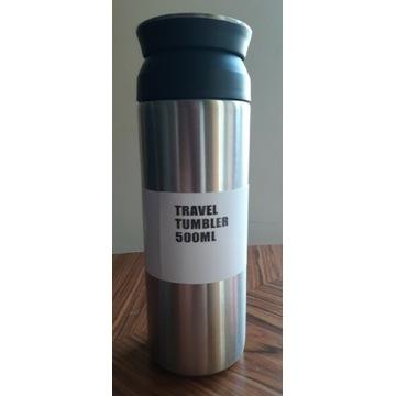 Travel tumbler 500 ml butelka / kubek termiczny