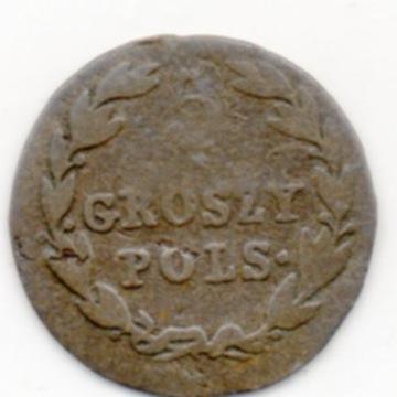 KRÓLESTWO POLSKIE 5 GROSZY POLSKICH 1819