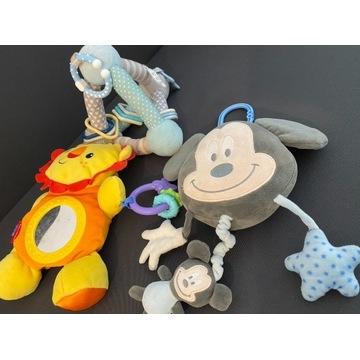 Zabawki do wózka - FisherPrice, BabyOno, DisneyBab