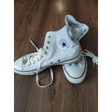 Białe NIEUŻYWANE trampki Converse
