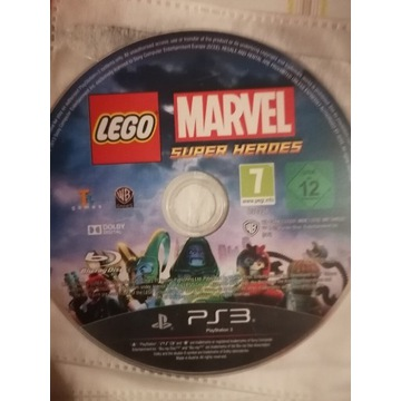 Gra na konsole PS3 Lego Marvel Super Hero j. PL